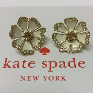 NWOT! Kate Spade Flower Earrings
